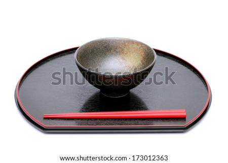 traditional japanese tableware isolated on white background  sc 1 st  Shutterstock & Traditional Japanese Tableware Isolated On White Stock Photo ...