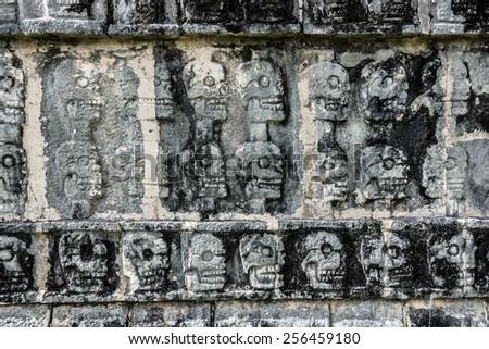 Traditional Mayan Art. - stock photo