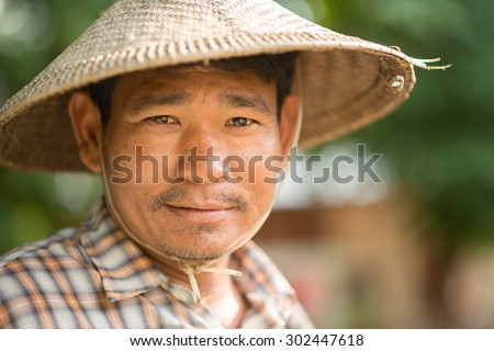 Traditional Myanman man