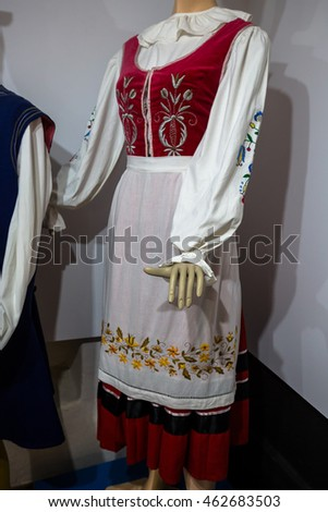 Traditional Polish Costume
