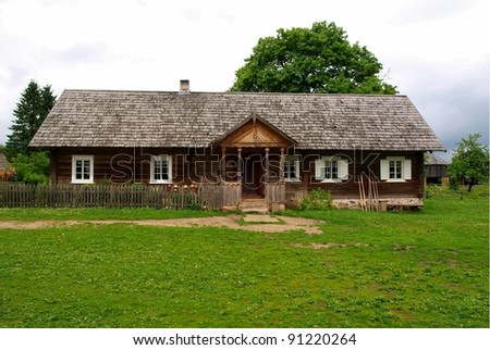 Traditional rural house