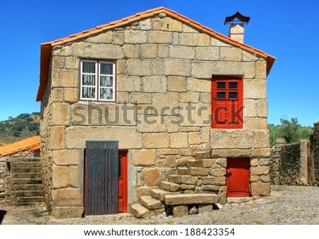 Traditional rural house of Marialva, Portugal