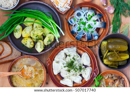 Russian food stock images royalty free images vectors for Authentic russian cuisine