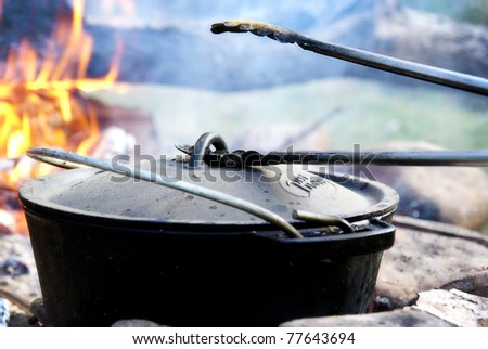 Fire Pot Stock Images Royalty Free Images Vectors