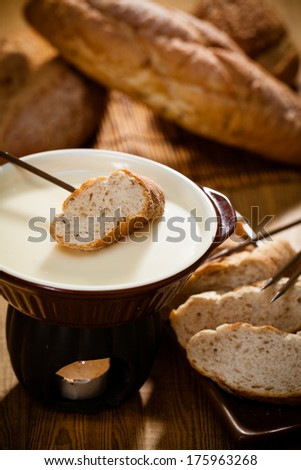 Traditional Swiss food for winter - stock photo