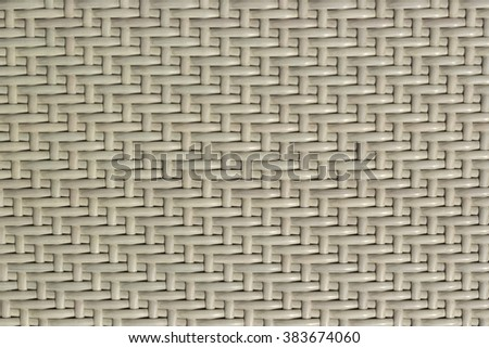 traditional thai style pattern nature background of White handicraft weave texture wicker surface for furniture material - stock photo