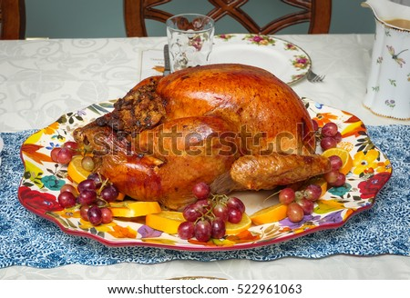 Traditional thanksgiving turkey