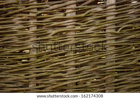 Traditional wattle - stock photo