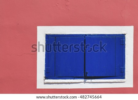 Traditional window in  Greece