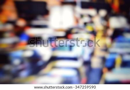 traffic jam - stock photo