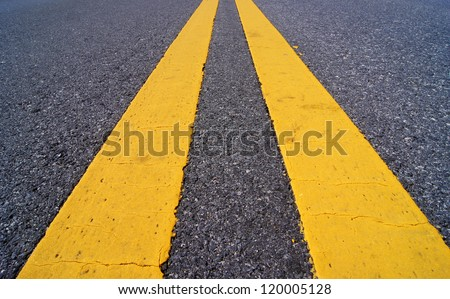 Traffic lines. - stock photo