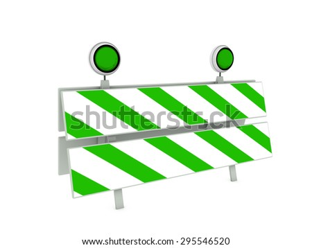 traffic panel - stock photo