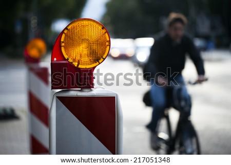 Traffic Sign - stock photo
