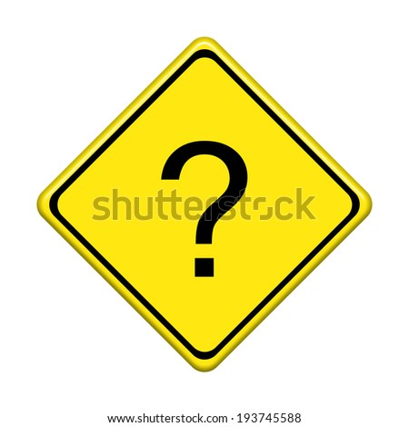 Traffic sign isolated on white background. - stock photo