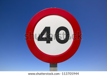 traffic signs with sky background