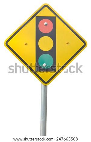 traffic sing - stock photo