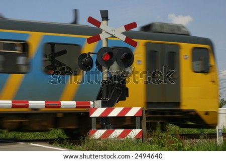 train and signals