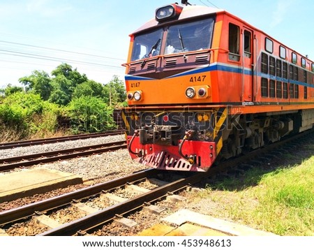 Train and State Railway of Thailand