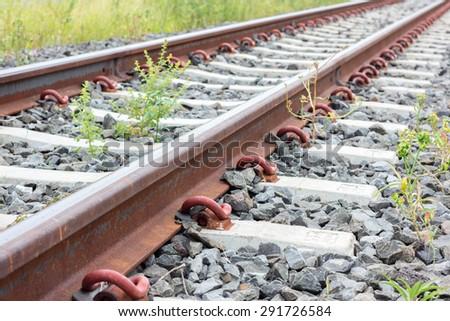 Train Railway - stock photo