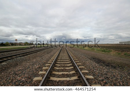 Train Tracks in Nebraska