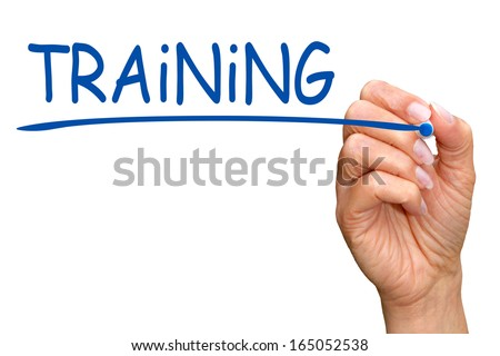 Training - stock photo