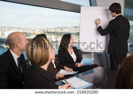 Training business - stock photo