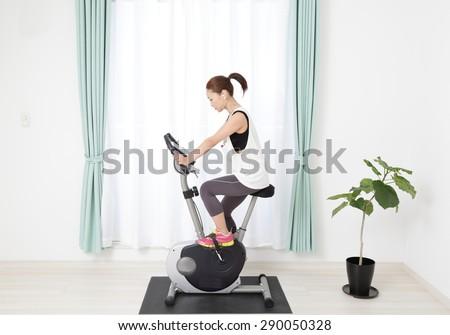 Training image - stock photo