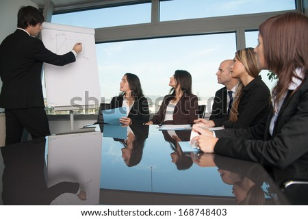 Sales Presentation Stock Images RoyaltyFree Images  Vectors
