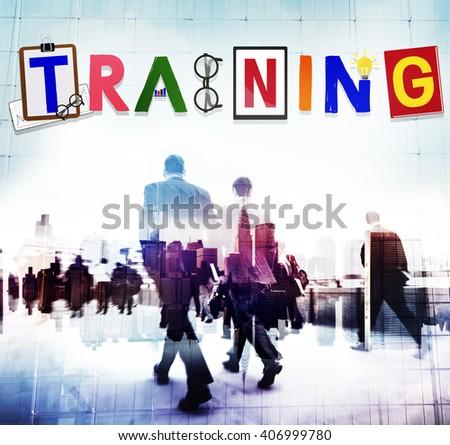 Training Workshop Development Learning Education Concept  - stock photo