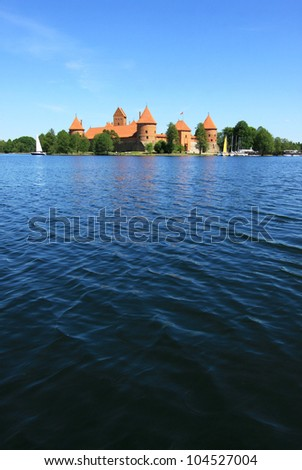 Trakai Castle - stock photo
