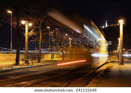 Tram - stock photo