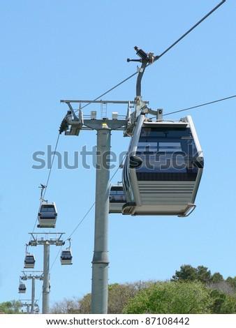 Tram in Barcelona - stock photo