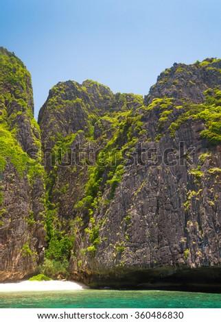 Tranquil Bay Heaven Horizon  - stock photo