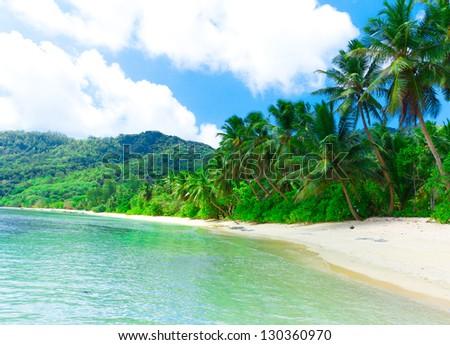 Tranquility Bay Shore - stock photo