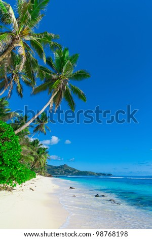 Tranquility Landscape Sea - stock photo