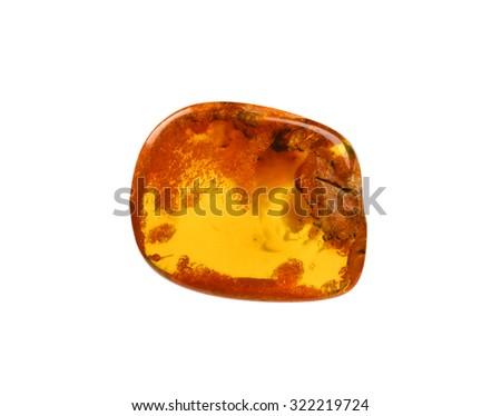 translucent amber - stock photo