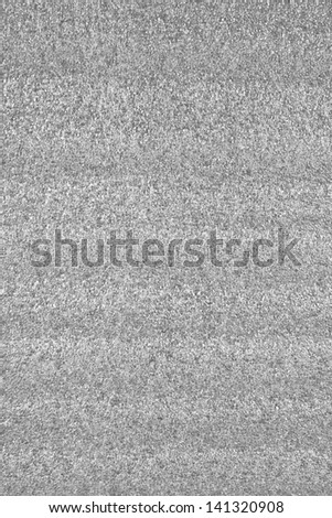 Translucent foam packing on a white background - stock photo