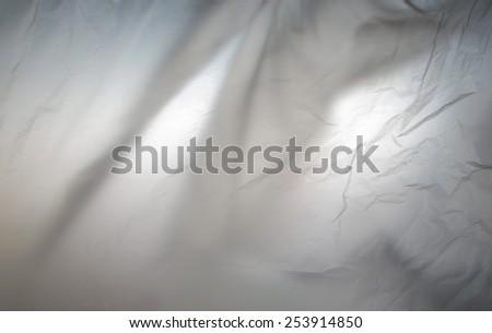 Transmission light through the bag - stock photo