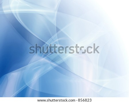 Transparent abstract trails background. - stock photo