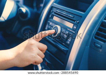 Car Radio Stock Images Royalty Free Images Vectors Shutterstock