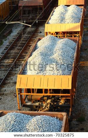 Transportation by rail. Image - stock photo