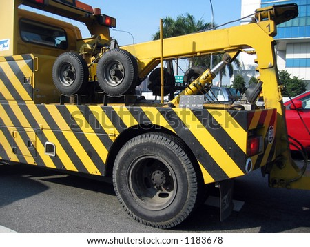 Transportation : Tow Truck - stock photo