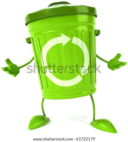 Trash - stock photo