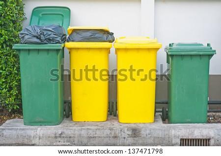 Trashcan - stock photo