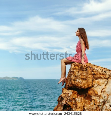 Travel and freedom concept - stock photo