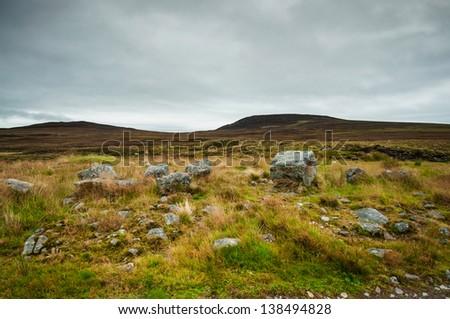 Travel around Scotland - stock photo