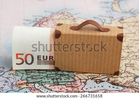 Travel budget - stock photo