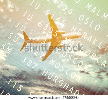 Travel conceptual image - stock photo