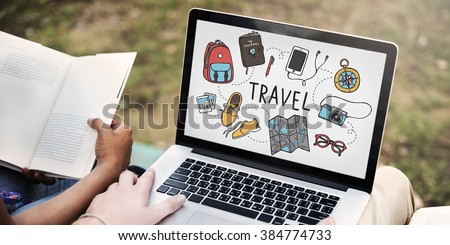 Travel Holiday Tourism Transportation Vacation Concept