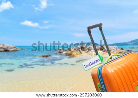 Travel Insurance. - stock photo